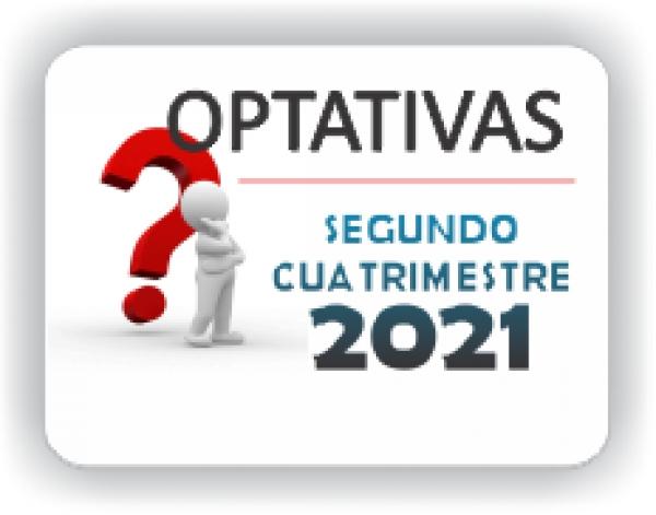 OPTATIVAS PRIMER CUATRIMESTRE 2021